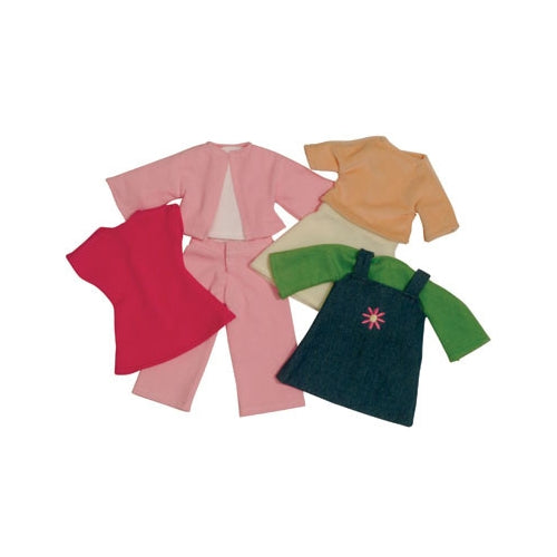 Rag doll Clothes set - Green - Kiddymania