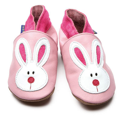 Inch Blue Baby shoes - Pink Bunny - Kiddymania Rag Dolls