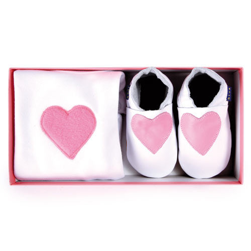 Inch Blue Heart gift set - Kiddymania