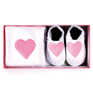 Inch Blue Heart gift set - Kiddymania Rag Dolls