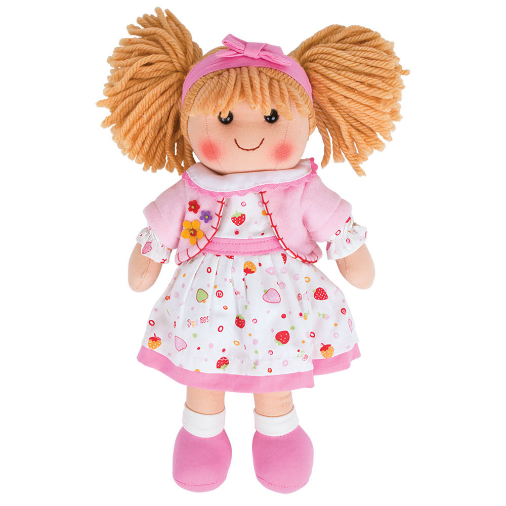 Kelly Traditional Rag Doll - 34 cm