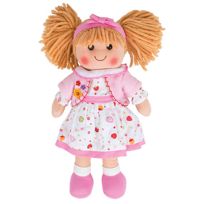 Bigjigs rag doll Kelly 34 cm