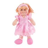 Lily Ballerina Traditional Rag Doll - 28 cm