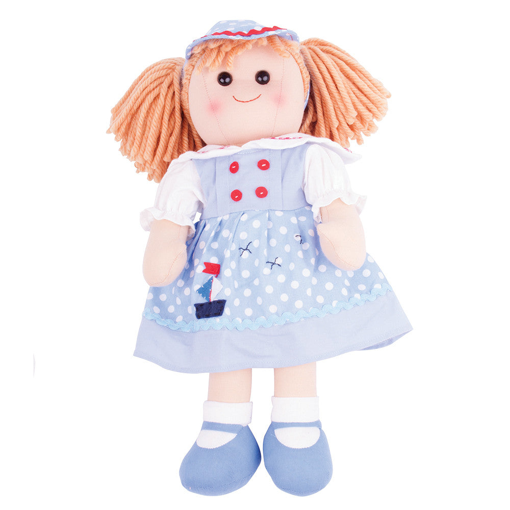 Louise Traditional Rag Doll - 38 cm