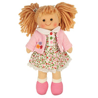 Bigjigs Poppy traditional rag doll