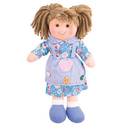 Bigjigs Traditional Rag doll Grace