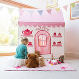 2 -in-1 Rose Cottage and Tea Shop Playhouse Large - Kiddymania
