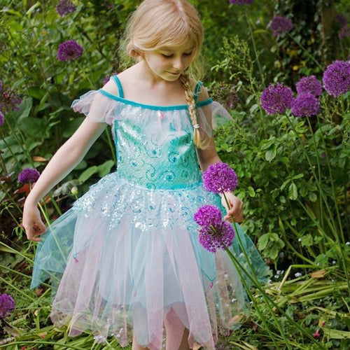Aqua Fairy Fancy Dress Costume