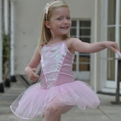 Ballerina Dressing Up outfit Fancy Dress - Kiddymania Rag Dolls