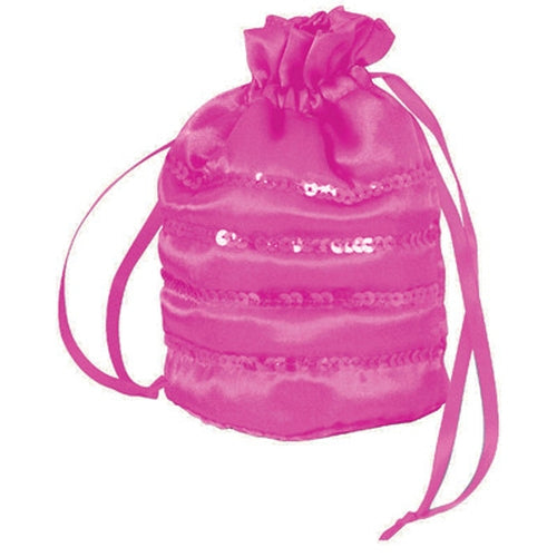 Girls Fancy Dress Cerise Ballgown Bag Accessory