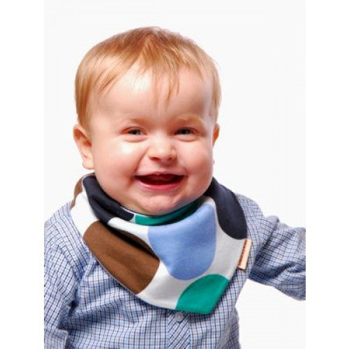 Beauty and the Bib Bandana Bib - Circles