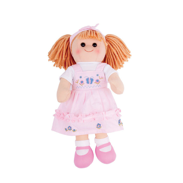 Alice Traditional Rag Doll - Large