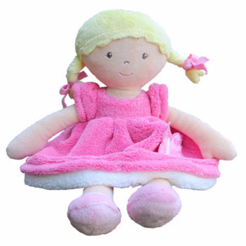 Bonikka Butterfly Pink - Fair Trade Rag doll - Kiddymania