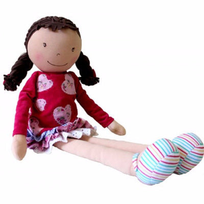 Willettes Emily Rose - 44cm - Kiddymania Rag Dolls