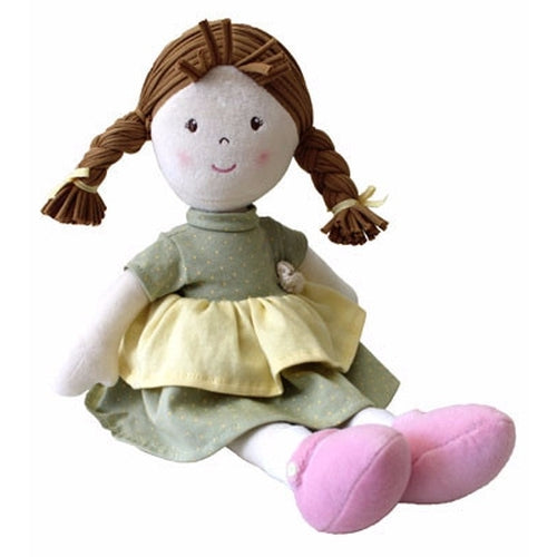 Bonikka Naturals Honey - Fair Trade Rag doll - Kiddymania Rag Dolls