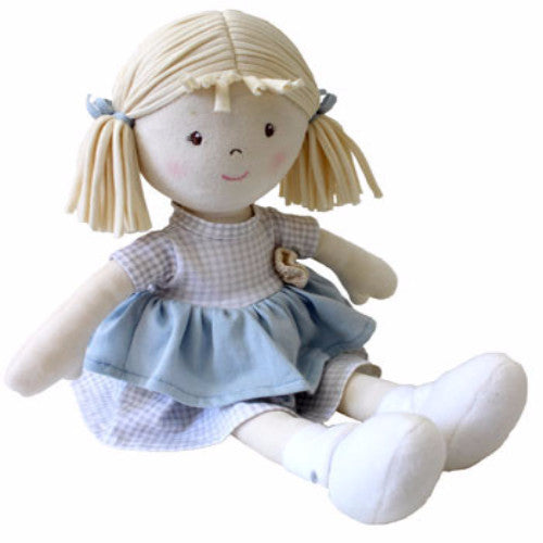Bonikka Naturals Neva - Fair Trade Rag doll - Kiddymania
