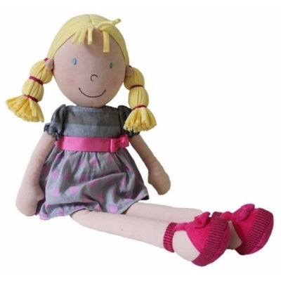 Bonikka Willettes Ruby Ann - Fair Trade Rag doll - Kiddymania Rag Dolls