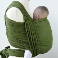 Calin Bleu Cool Baby Sling Yummy Olive Green - Kiddymania Rag Dolls