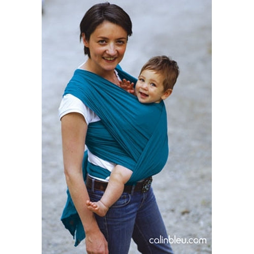 Calin Bleu Cool Baby Sling Teal - Kiddymania