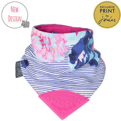 Cheeky Chompers Joules Floral Neckchew