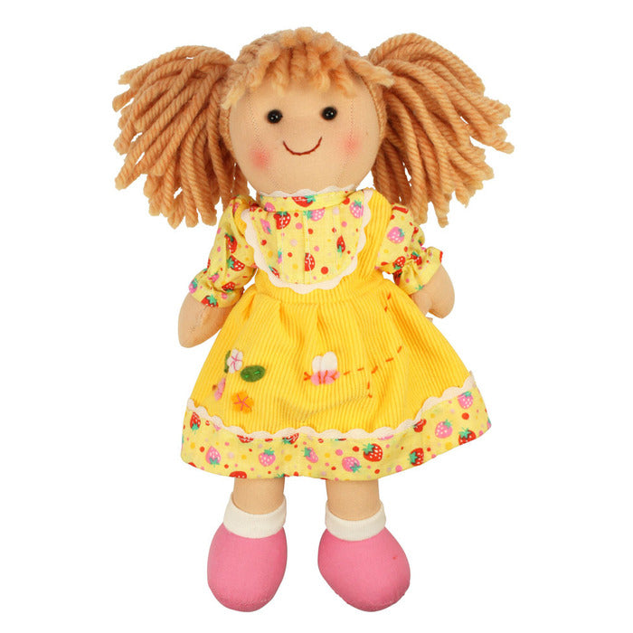 Daisy Traditional Rag Doll - 28 cm - Kiddymania Rag Dolls