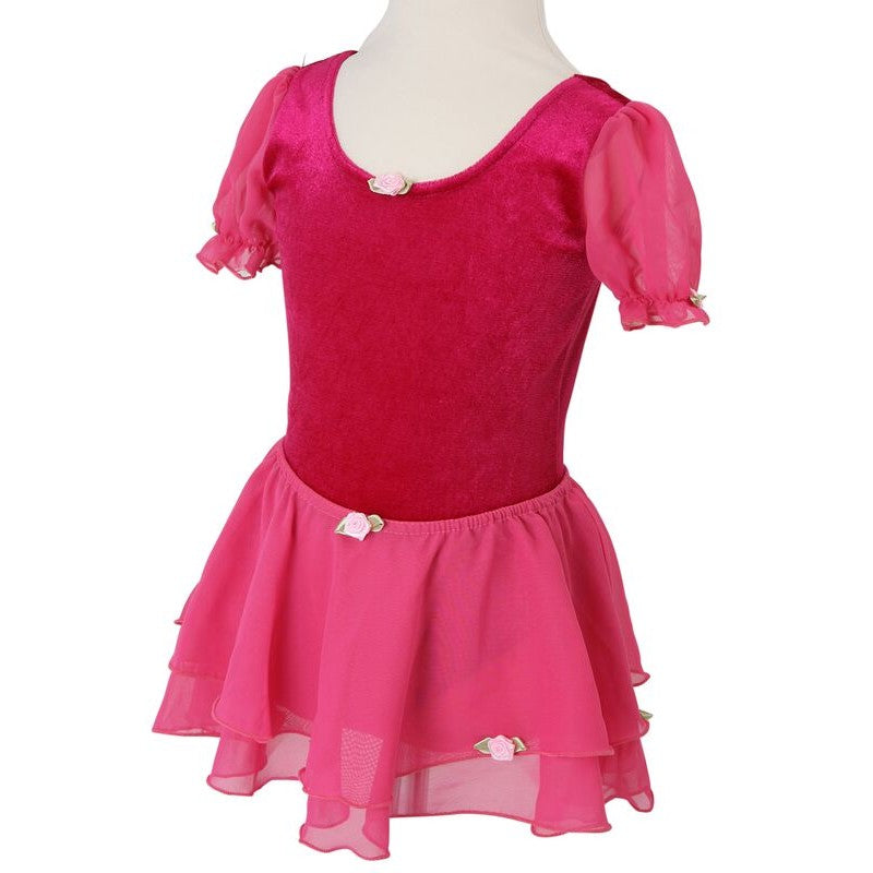 Frilly Lily Darcy Ballet Tutu Deep Pink-4-6 years