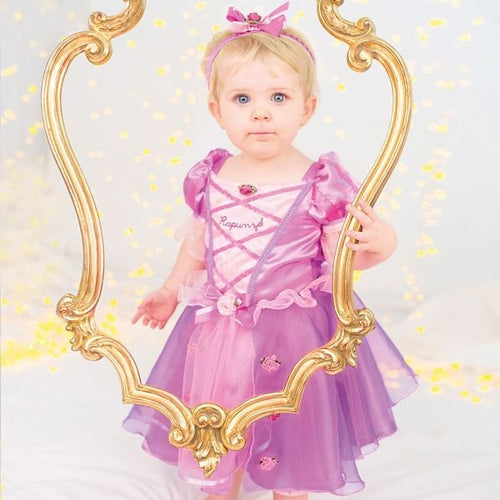 Disney Princess Rapunzel Baby Fancy Dress Costume - Kiddymania