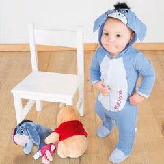 Disney Eeyore Jersey Romper with Hood
