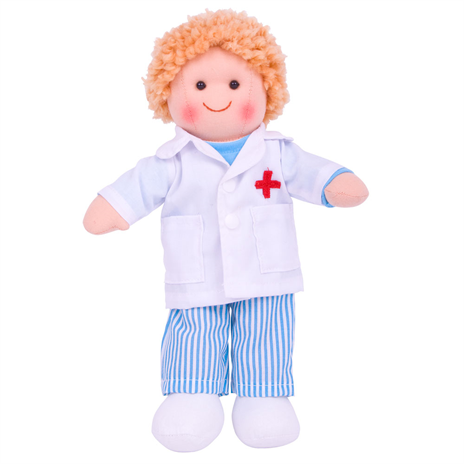 Doctor Tommy Traditional Rag Doll - 28 cm