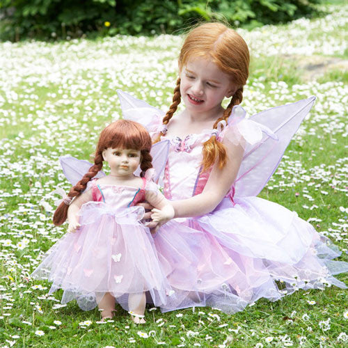 Dolls Butterfly Fairy Dress Set
