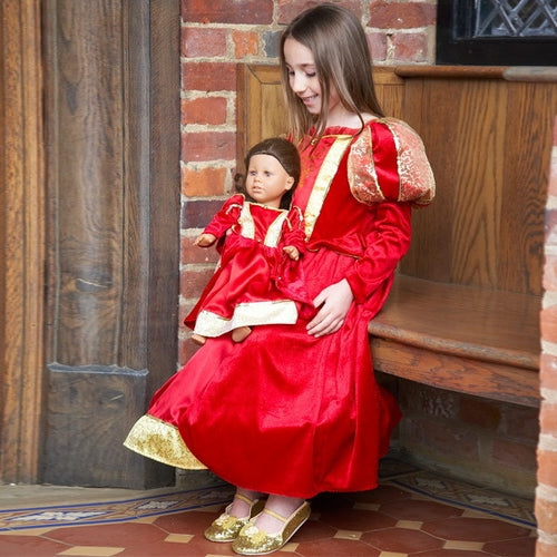 Dolls Medieval Queen Dress