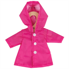 Raincoat Rag Doll clothes - Small