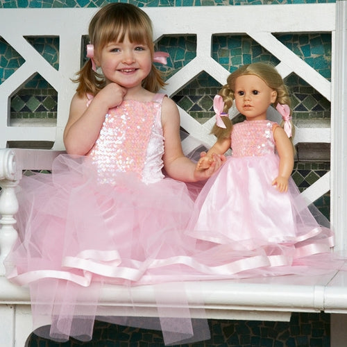 Dolls Sequin Ballgown dress