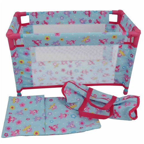 Dolls World Travel Cot