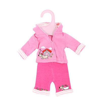 Dolly Designs 2 piece doggy trouser set with hood 14-16