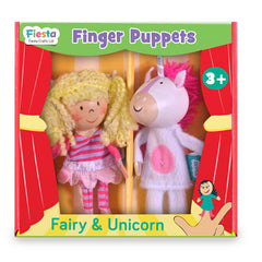 Fairy & Unicorn Finger Puppet Set