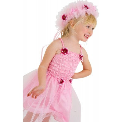 Frilly Lily Pink Baby Toddler Girls Fairy Fancy Dress
