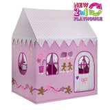 Gingerbread Cottage/Sweet Shop  2 in 1 Playhouse Large - Kiddymania