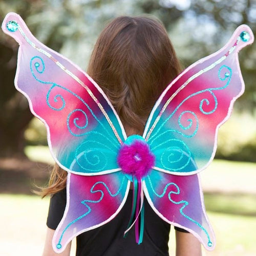 Aquamarine Jewelled wings - Kiddymania