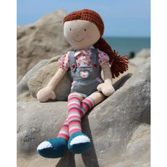 Bonikka Ritzyz Julia - Fair Trade Rag doll - Kiddymania Rag Dolls