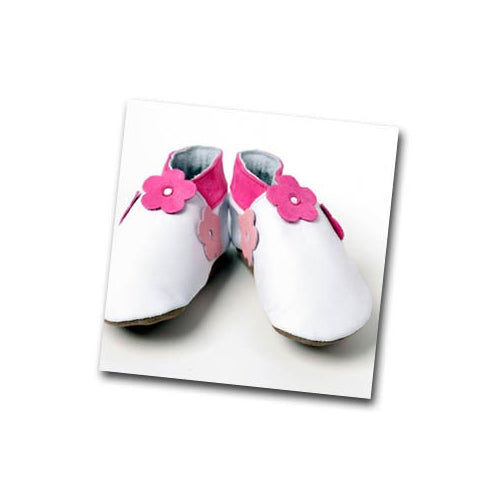 Inch Blue Florabunda Baby Girls Shoes - Kiddymania