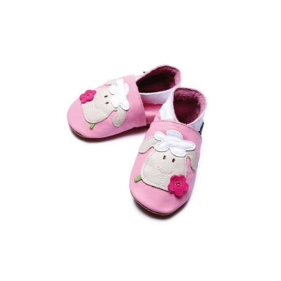 Inch Blue Baby shoes - Sheep baby Pink - Kiddymania Rag Dolls