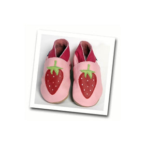 Inch Blue Strawberry Delight Baby Girls Shoes - Kiddymania Rag Dolls