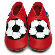 Inch Blue Baby shoes - Football red - Kiddymania Rag Dolls