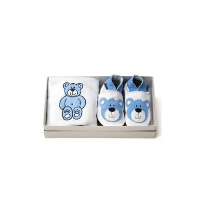 Inch Blue Blue Teddy gift set - Kiddymania Rag Dolls