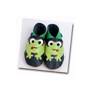 Inch Blue Frog Baby Boys Shoes-Navy - Kiddymania Rag Dolls