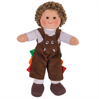 Jack Traditional Rag Doll - Small - Kiddymania Rag Dolls