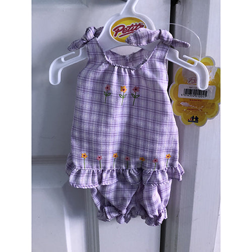 "Petite Dolls Clothes 12""-14""  Summer outfit"