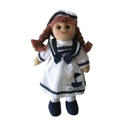 Powell Craft Handmade Mini sailor Rag doll 19cm - Kiddymania