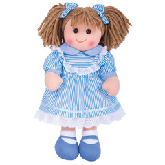 Bigjigs Traditional Rag doll Amelia